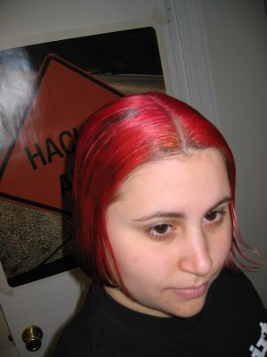Me with neat red hair