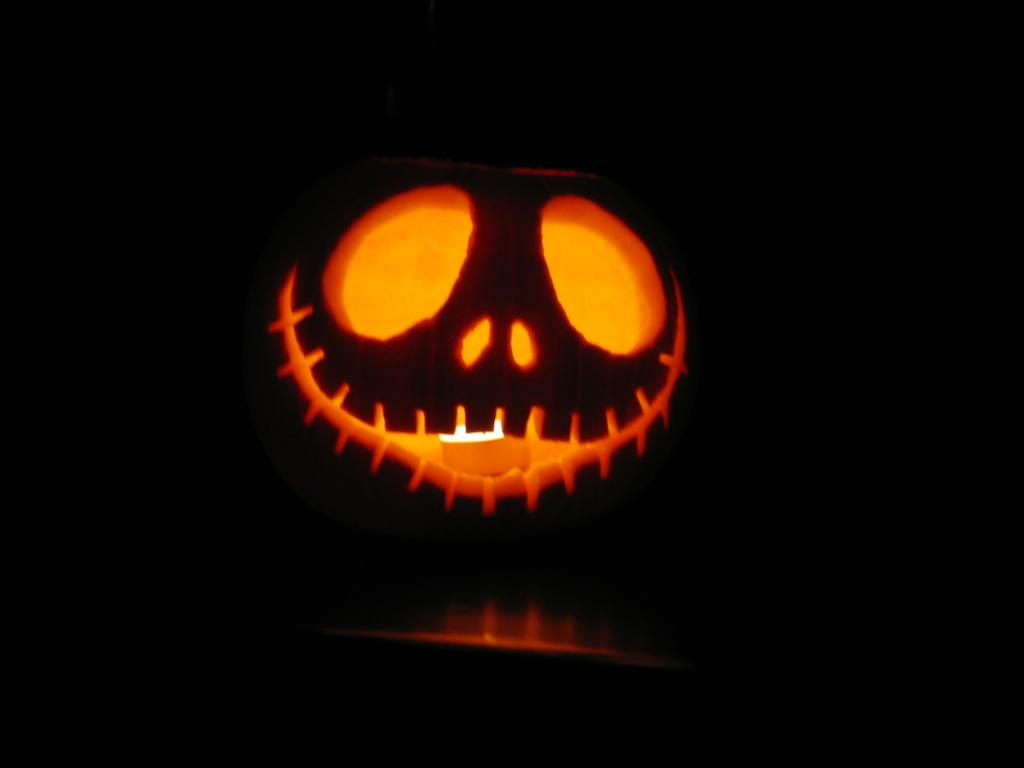 Jack skellington pumpkin stencil the for Skeleton pumpkin pattern