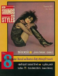Siouxsie is goth